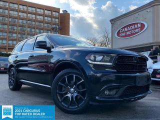 Used 2016 Dodge Durango CLEAN CARFAX | R/T  5.7 HEMI | AWD | NAVI | CAM | 7 PASS | for sale in Scarborough, ON