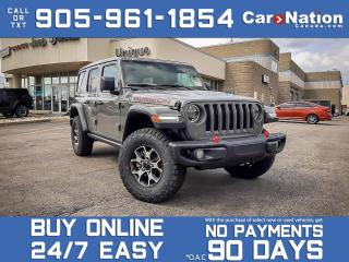 Used 2021 Jeep Wrangler Unlimited Rubicon 4x4| BRAND NEW| SKY POWER TOP| for sale in Burlington, ON