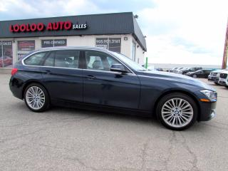 Used 2015 BMW 3 Series Sport Wagon 328i XDrive Wagon Touring Navi Camera One Owner Certified for sale in Milton, ON