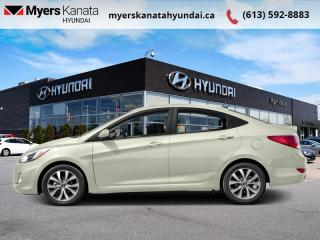Used 2016 Hyundai Accent LE   - $78 B/W for sale in Kanata, ON