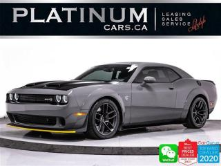 Used 2019 Dodge Challenger SRT Hellcat Widebody, 717HP, CAM, BT, HEATED,APPLE for sale in Toronto, ON