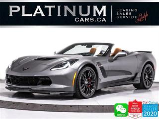 Used 2016 Chevrolet Corvette Z06 650HP, 3LZ, CONVERTIBLE,COMPETITION SEATS, NAV for sale in Toronto, ON