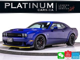 Used 2019 Dodge Challenger SRT Hellcat Widebody, 717HP, MANUAL, CAM, NAV, BT for sale in Toronto, ON