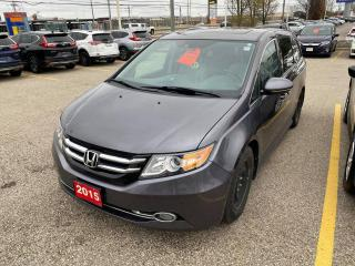 Used 2015 Honda Odyssey Touring w/RES & Navi for sale in Waterloo, ON