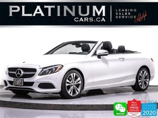 Used 2017 Mercedes-Benz C-Class C300 4MATIC, CONVERTIBLE, AWD, NAVI, HEATED, BT for sale in Toronto, ON
