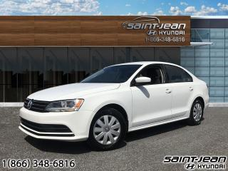 Used 2017 Volkswagen Jetta Sedan Trendline+ / A/C + AUTO + BLUETOOTH for sale in Saint-Jean-sur-Richelieu, QC
