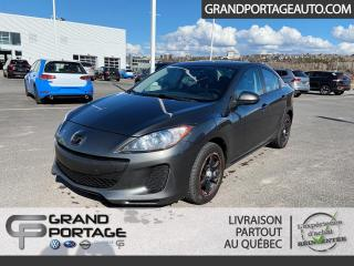 Used 2013 Mazda MAZDA3 Berline 4 portes, boîte manuelle, GS-SKY for sale in Rivière-Du-Loup, QC