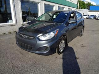 Used 2013 Hyundai Accent Voiture à hayon, 5 p, boîte man L *Disp. for sale in St-Jérôme, QC