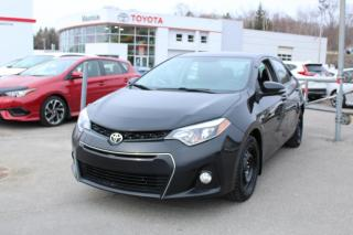 Used 2014 Toyota Corolla Berline 4 portes, boîte manuelle, S for sale in Shawinigan, QC