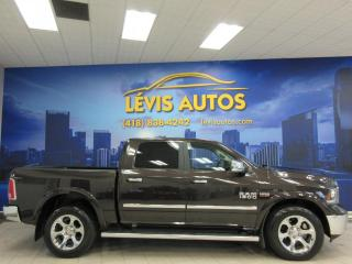 Used 2017 RAM 1500 LARAMIE CREW-CAB 5.7 CUIR CHAUFFANT/VENT for sale in Lévis, QC