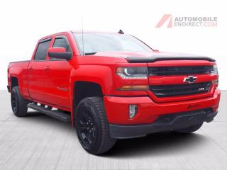 Used 2016 Chevrolet Silverado 1500 LT Z71 Crew 4X4 Boîte 6 Pieds A/C Mags Caméra for sale in St-Hubert, QC
