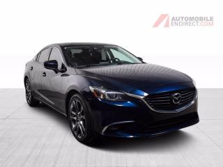Used 2017 Mazda MAZDA6 GT Manuelle A/C Mags Cuir Toit GPS Caméra for sale in St-Hubert, QC