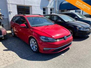 Used 2018 Volkswagen Golf Sportwagen DSG 4MOTION Comfortline + TOIT + XENON for sale in Québec, QC