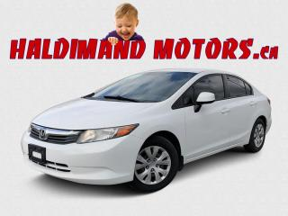 Used 2012 Honda Civic LX for sale in Cayuga, ON