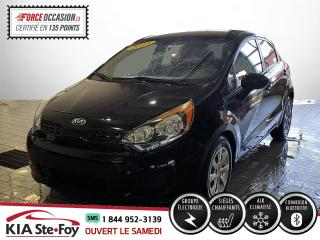 Used 2015 Kia Rio LX+* SIEGES CHAUFFANTS* BLUETOOTH* GROUP for sale in Québec, QC