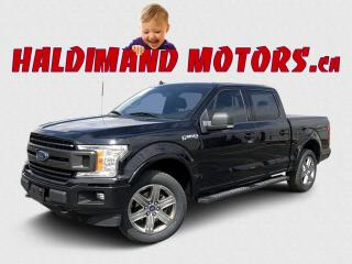 Used 2018 Ford F-150 XLT SPORT CREW 4WD for sale in Cayuga, ON
