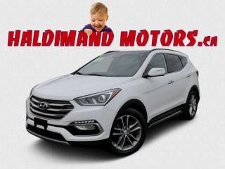 Used 2018 Hyundai Santa Fe Limited SPORT  AWD for sale in Cayuga, ON