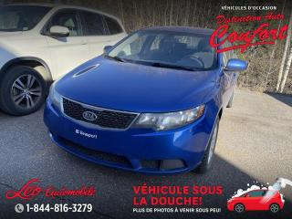 Used 2012 Kia Forte LX Berline 4 portes, boîte manuelle for sale in Chicoutimi, QC