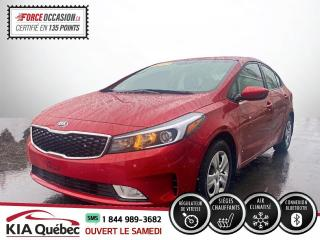 Used 2017 Kia Forte ** LX+ *AC * SIEGES CHAUFFANT * CRUISE for sale in Québec, QC