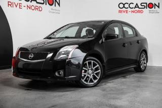 Used 2010 Nissan Sentra SE-R Spec V Manuelle GAR 1 AN for sale in Boisbriand, QC