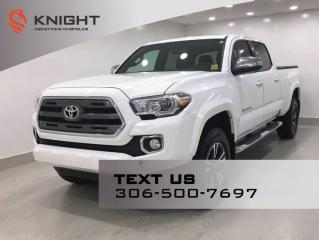 Used 2016 Toyota Tacoma Limited Double Cab V6 | Leather | Sunroof | Navigation | for sale in Regina, SK