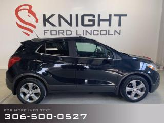 Used 2014 Buick Encore Leather, Accident Free, Command Start! for sale in Moose Jaw, SK