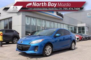 Used 2013 Mazda MAZDA3 GT Manual AS IS - Leather, Sunroof, Power Driver Seat for sale in North Bay, ON
