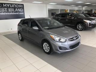 Used 2016 Hyundai Accent GL MANUELLE A/C CRUISE BT SIÈGES CHAUFFA for sale in Dorval, QC