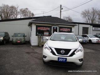 Used 2017 Nissan Murano ALL-WHEEL DRIVE SL EDITION 5 PASSENGER 3.5L - V6.. NAVIGATION.. LEATHER.. HEATED SEATS & WHEEL.. PANORAMIC SUNROOF.. BACK-UP CAMERA.. BLUETOOTH.. for sale in Bradford, ON