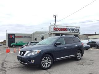Used 2016 Nissan Pathfinder 2.99% Financing - SL 4WD - NAVI - 7 PASS - PANO ROOF - 360 CAMERA for sale in Oakville, ON