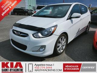 Used 2014 Hyundai Accent GLS ** TOIT OUVRANT / SIÈGES CHAUFFANTS for sale in St-Hyacinthe, QC