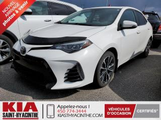 Used 2018 Toyota Corolla SE ** TOIT OUVRANT / CUIR for sale in St-Hyacinthe, QC