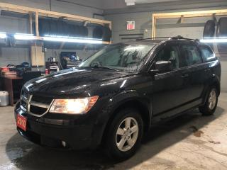 Used 2010 Dodge Journey SE * AM/FM/CD/USB/Aux * Traction Control * Automatic/Manual Mode * Child Seat Anchors * Child Door Locks * Keyless Entry * Heated Mirrors * Automatic for sale in Cambridge, ON