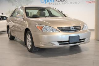 Used 2004 Toyota Camry 4-door Sedan LE 4A for sale in Richmond, BC