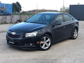 Used 2012 Chevrolet Cruze LTZ Turbo w/1SA|Leather|Roof|Heated seats| for sale in Bolton, ON