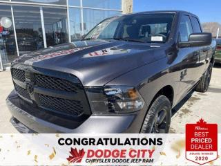 New 2021 RAM 1500 Classic Express-4WD,Split Front Bench Seat, B/U Camera for sale in Saskatoon, SK