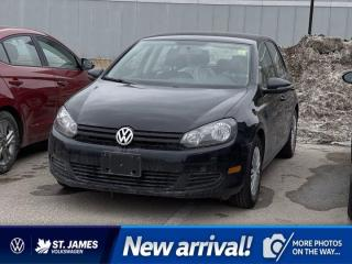 Used 2013 Volkswagen Golf Trendline, Clean Carfax, Keyless Entry, Cruise Control for sale in Winnipeg, MB