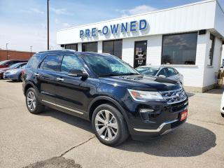 Used 2018 Ford Explorer LIMITED for sale in Brantford, ON