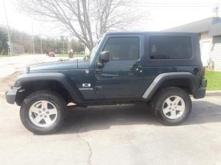 Used 2007 Jeep Wrangler X for sale in Waterloo, ON