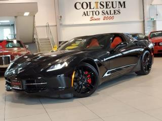 Used 2019 Chevrolet Corvette STINGRAY-COUPE-AUTO-RED LEATHER-CERAMIC COATED for sale in Toronto, ON