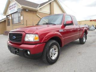 Used 2008 Ford Ranger SPORT Extended Cab 3.0L V6 A/c Tilt Cruise for sale in Rexdale, ON