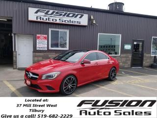 Used 2015 Mercedes-Benz CLA-Class CLA 250 AWD-PANORAMIC SUNROOF-NAVIGATION-LEATHER for sale in Tilbury, ON