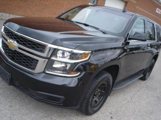 Used 2016 Chevrolet Tahoe 4x4,ex-police,6 passenger,certified for sale in Mississauga, ON