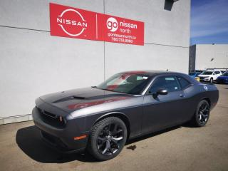 Used 2018 Dodge Challenger SXT Plus / Smart Key / Backup Camera / Two Sets Of Tires for sale in Edmonton, AB