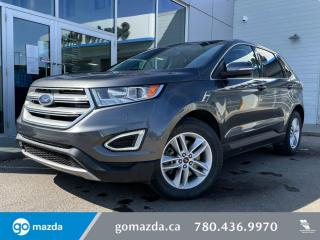 Used 2015 Ford Edge SEL - AWD, CLOTH, HEATED SEATS, PANO ROOF, NAV AND MORE! for sale in Edmonton, AB