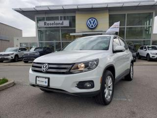 Used 2017 Volkswagen Tiguan Wolfsburg Edition 4dr AWD 4MOTION for sale in Burlington, ON