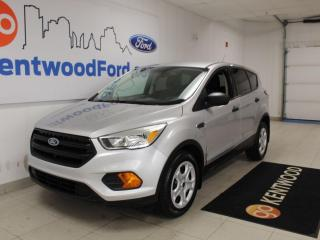 Used 2017 Ford Escape S   FWD   Reverse Camera   Fuel Efficient for sale in Edmonton, AB