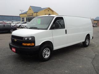 Used 2018 Chevrolet Express 2500 Extended Cargo Van 6.0L Nav BackUpCam for sale in Brantford, ON