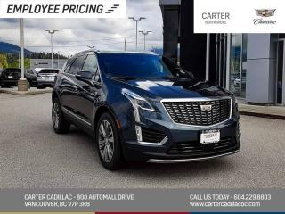 New 2021 Cadillac XT5 Premium Luxury NAVIGATION -  MOONROOF - MEMORY PKG - WIRELESS CHARGING for sale in North Vancouver, BC
