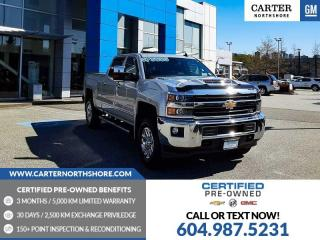 Used 2018 Chevrolet Silverado 3500HD LTZ NAVIGATION - WIRELESS CHARGING - MOONROOF for sale in North Vancouver, BC